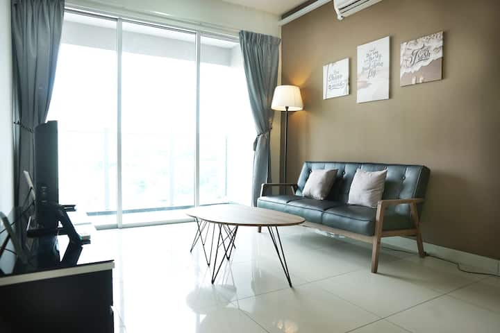 3 rooms, ANTIBACTERIAL cleaning, Parking, NearMrt
