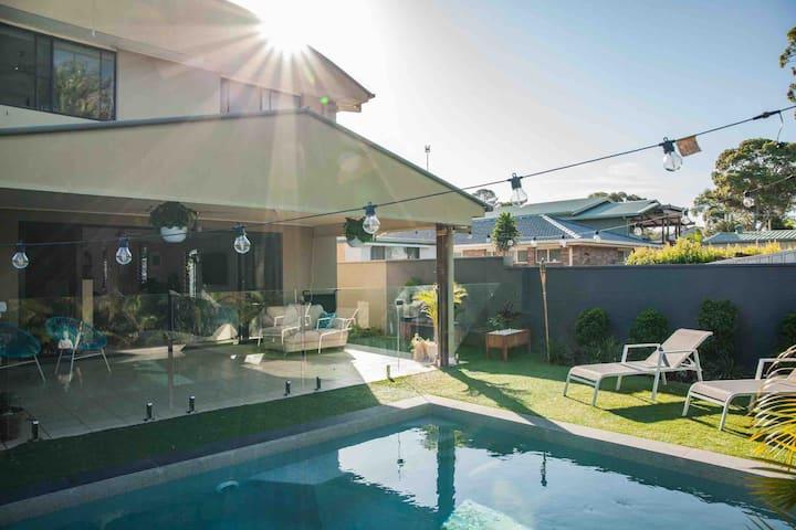 Gold Coast Beach Escape with Private Pool