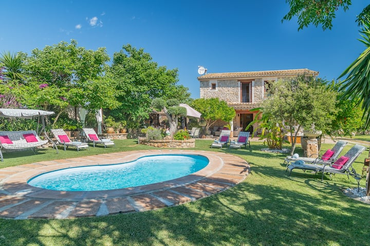 NEW! Can Diego: Character finca with pool & garden
