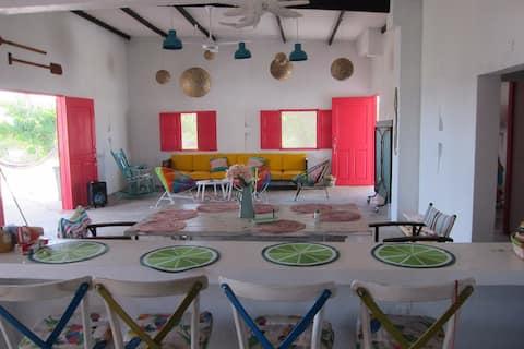 Linda Casa de playa en Galerazamba Bolivar