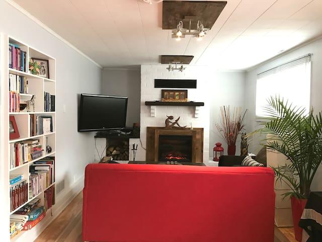 Appartement semi-privé dans un bungalow