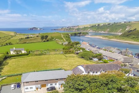 Sloopside Annex with views over Bantham Beach - Bantham - Rumah