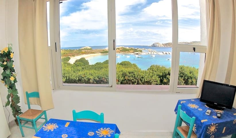 stunning sea view 70 m from  beach - Santa Teresa di Gallura - Apartemen