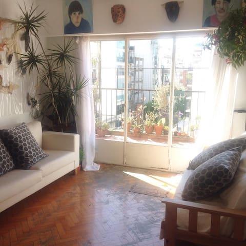 Habitación privada en departamento de Belgrano
