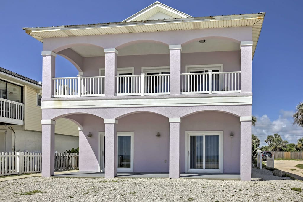 This beach home has everything necessary for your next Sunshine State escape!
