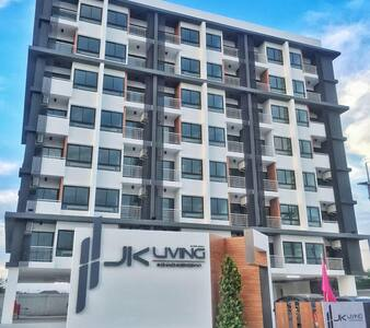 JK Living Apartment  at Chachoengsa - Tambon Na Muang - Apartment