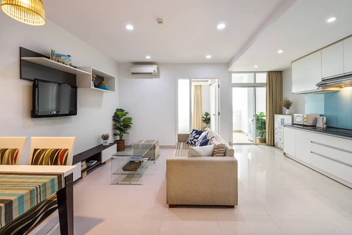 Lovely Saigon Center 1BR | HoLo Alex Saigon 7B-3B