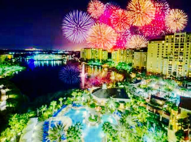 Orlando FL in Disney gate Wyndham Bonnet Creek 2BD