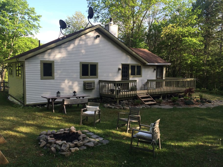 Country Cabin In The Catskills Houses For Rent In