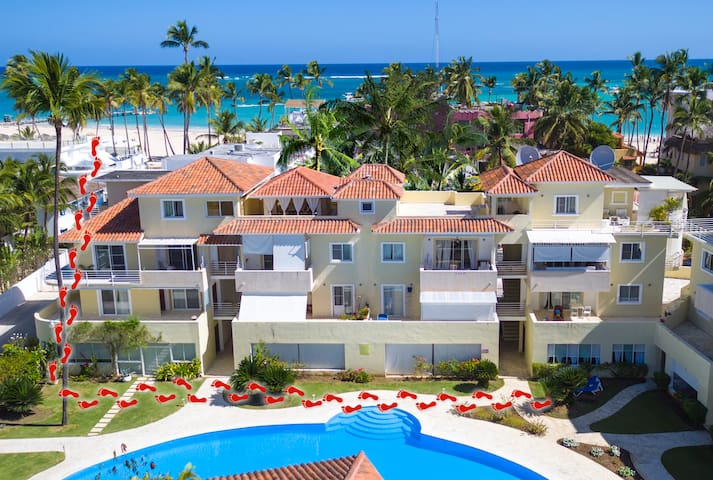 Penthouse Pool Beach Wifi 8 guests - Punta Cana - Appartement