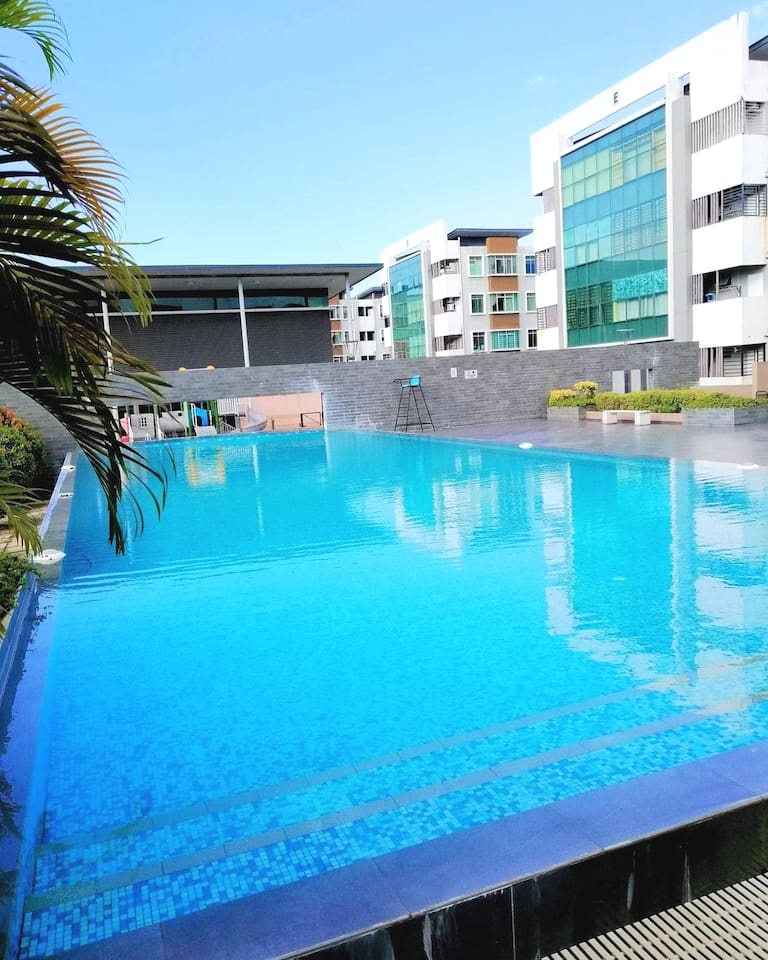 Outdoor Swimming Pool  -Open from 9am-9pm -Closed every monday -Proper swimming attire required