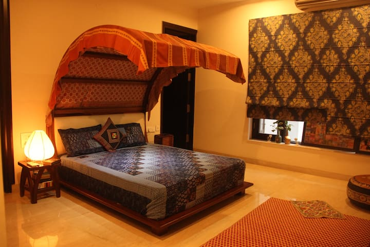 Vipasana - Cosy Indian Home Stay - Faridabad - Hus