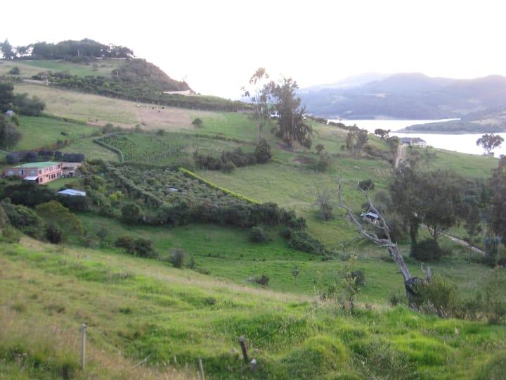 San Pablo Cottage , lake view