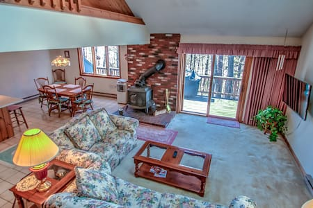 Spacious Country Townhome on the Saco River