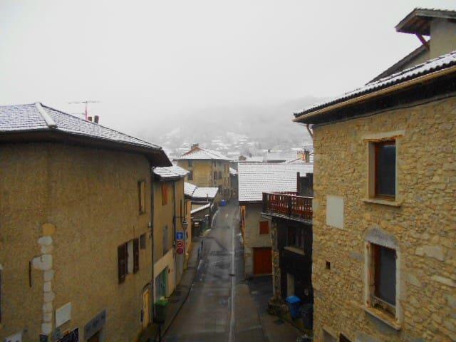 Chambre - Village montagnard - La Terrasse - Casa