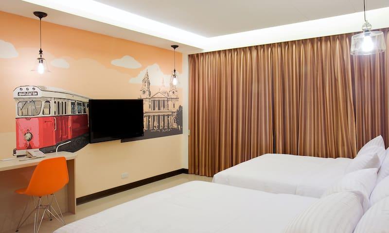 平價首選-台北東門站永康街-標準四人房