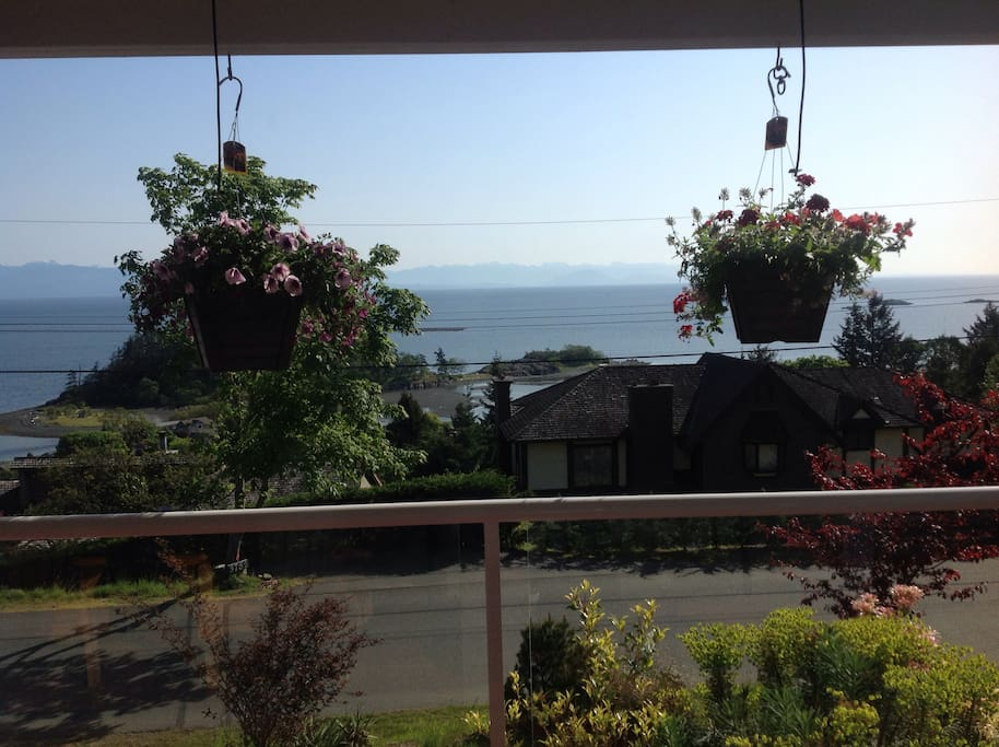 Ocean view from One Double Bed room