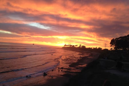 Cozy spacious beach apartment near UCSB - Goleta - Apartament