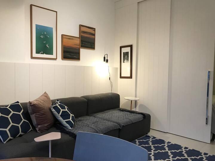 Cozy loft recém reformado em Jurerê