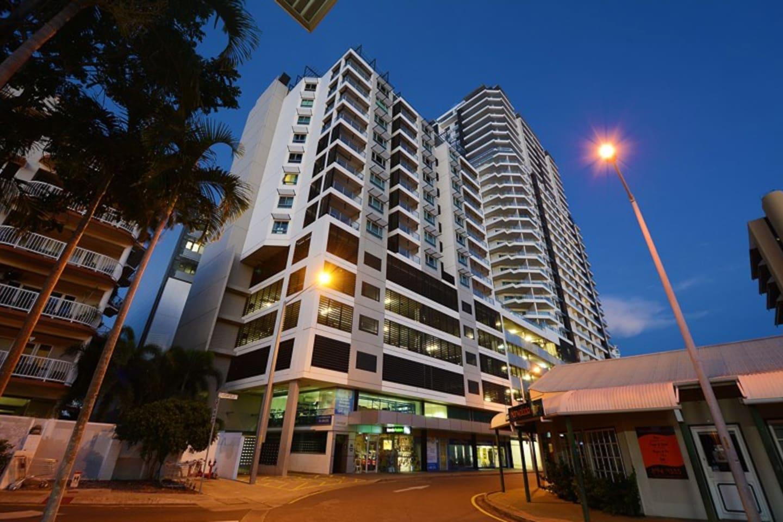 Spectacular penthouse views from prestigious CBD Residential Apartment Building.