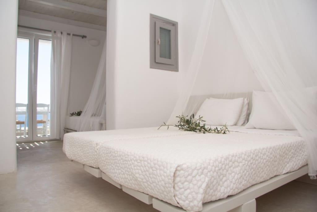 Twin Beds and Semi-Double bed