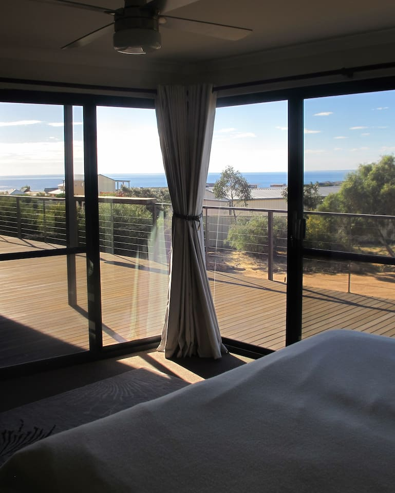 Beautiful views and balcony access from your bedroom