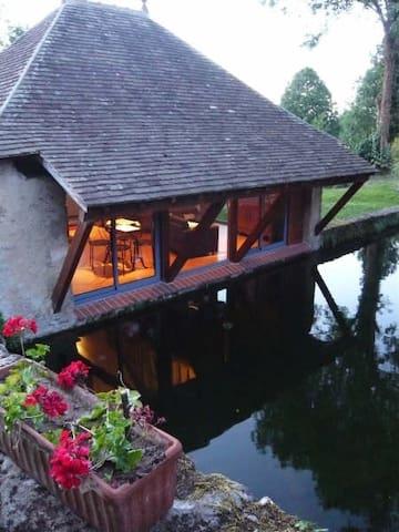 Le lavoir du prieuré - Sceaux-sur-Huisne - Dům pro hosty