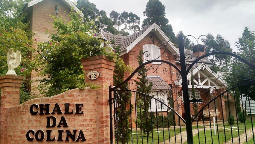 """""""Chalé da Colina"""" c/ Hidromassagem - Monte Verde - Chalet"""