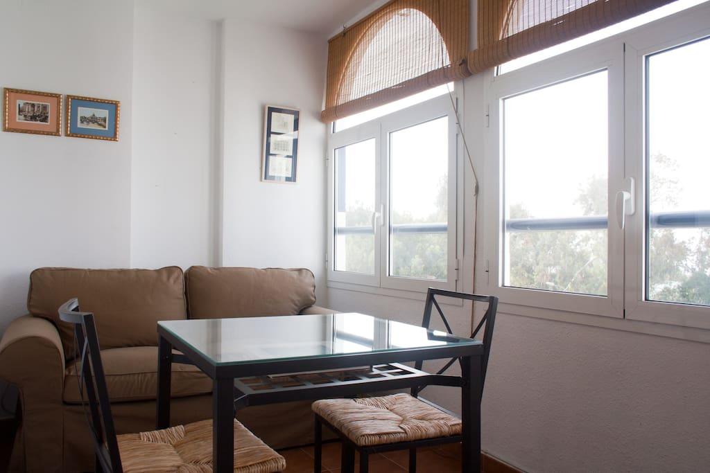 Sala de estar-mirador
