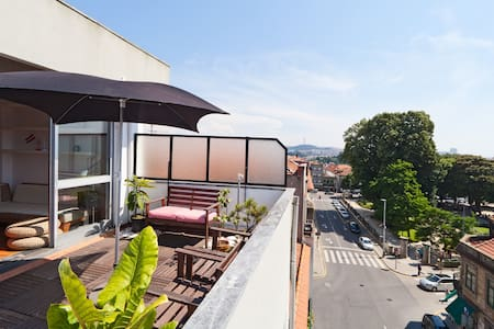 Grand Terrasse Appartement / Centre - Porto