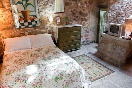 Habitación doble stándar. M. Arriba - A Pobra do Caramiñal - Penzion (B&B)