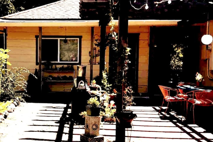 The Gazelle Resort in tranquil Philo, CA