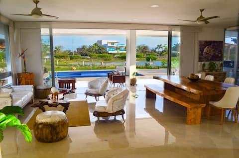 Villa de Playa Privada Cartagena