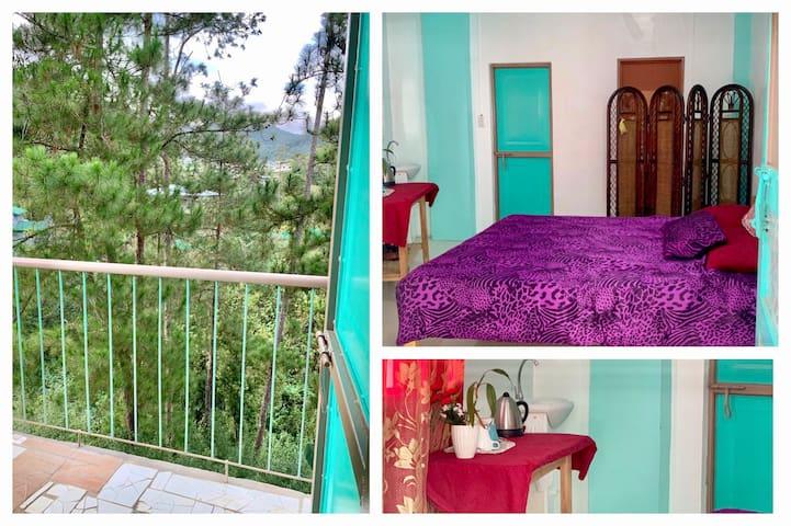 Rios & Ruzys Sagada Inn Room E (Couple's Room)