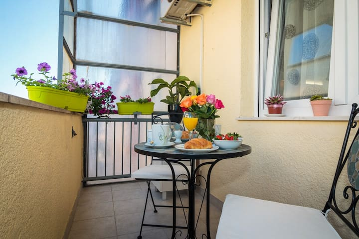 App with balcony and two bathrooms - Split - Appartement