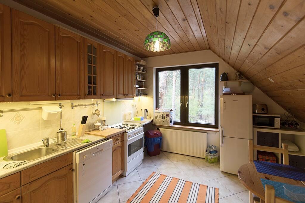 Kitchen, separate building