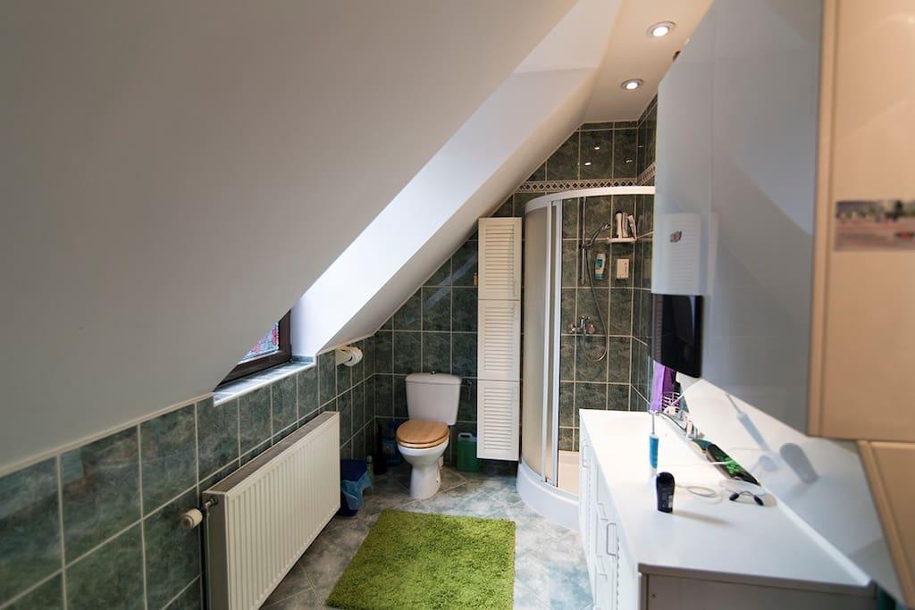 Bathroom, separate building
