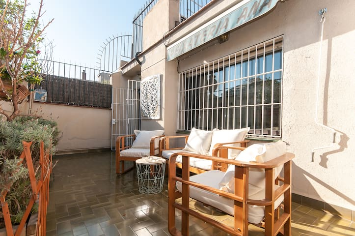 120sqm Penthouse Terrace @500 mts Plaza Cataluña - Barcelone - Appartement