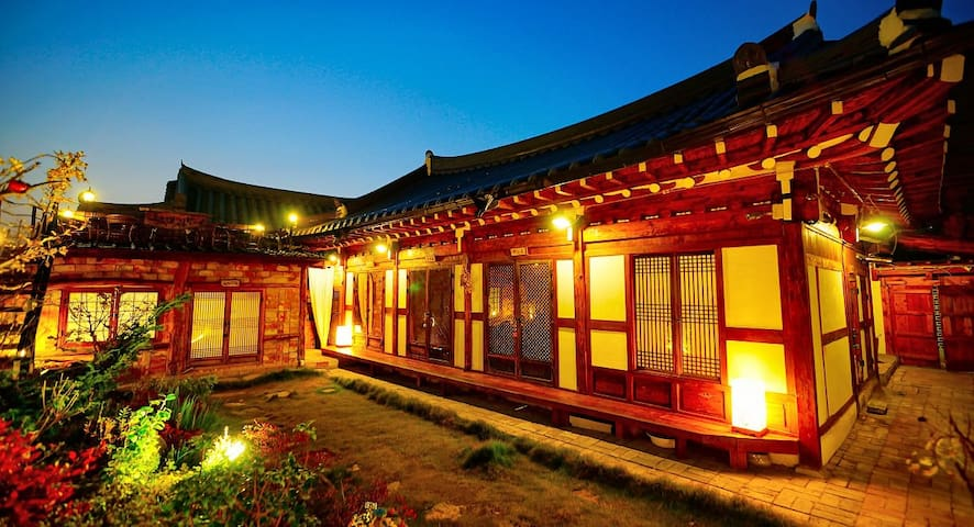 "Jeonju Korea Traditional house ""Kkoch Dae Gwol"""