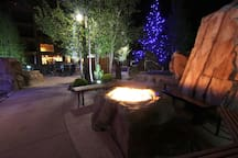 Shared Outdoor Fire Pit