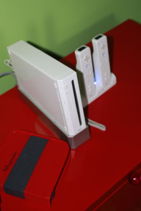 Wii system and movie folder.