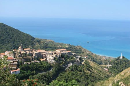 A holiday between the sea and the mountain - Belmonte Calabro - アパート