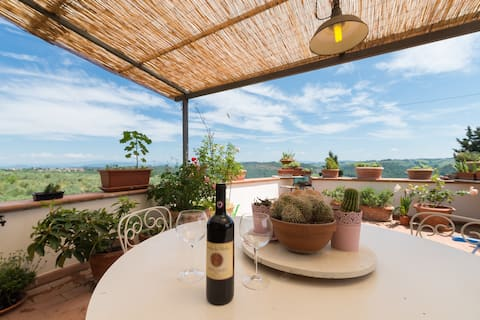 Loft in Torre del Tasso for sight and taste