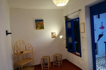 Double room pension Vallparadis.