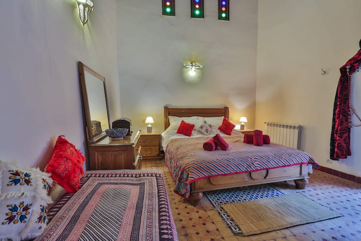 Quadruple Room suite Karaouiyine Riad Zina Fes