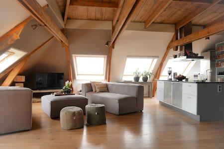 Modern appartement aan IJsselmeer - Stavoren - Apartamento