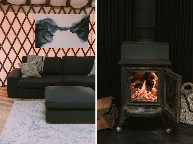 Woodfolk Yurt- Modern retreat