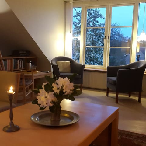 Open plan 1. floor of a house - Aabenraa - Lejlighed