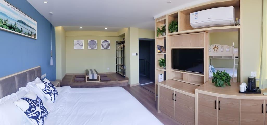 V07暮屿家庭房(含日式榻榻米及高低床)