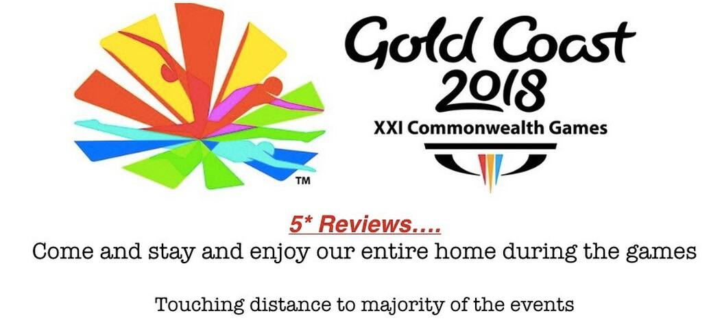 5* reviews, Private room for the GCCWG $99pn